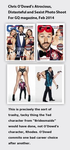 Chris O'Dowd's Sexist Photoshoot